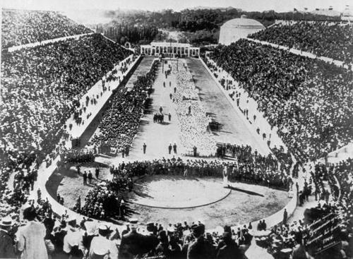 Sanskrit Of The Vedas Vs Modern Sanskrit: 1896 Athens Olympic Stadium