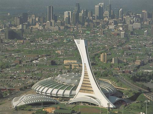 Montreal Street Food Olympic Stadium 1976 Montreal Olympic Stadium