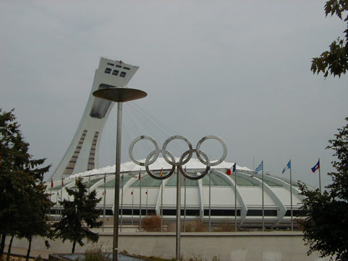 Olympic Stadium in Montreal History 1976 Montreal Olympic Stadium